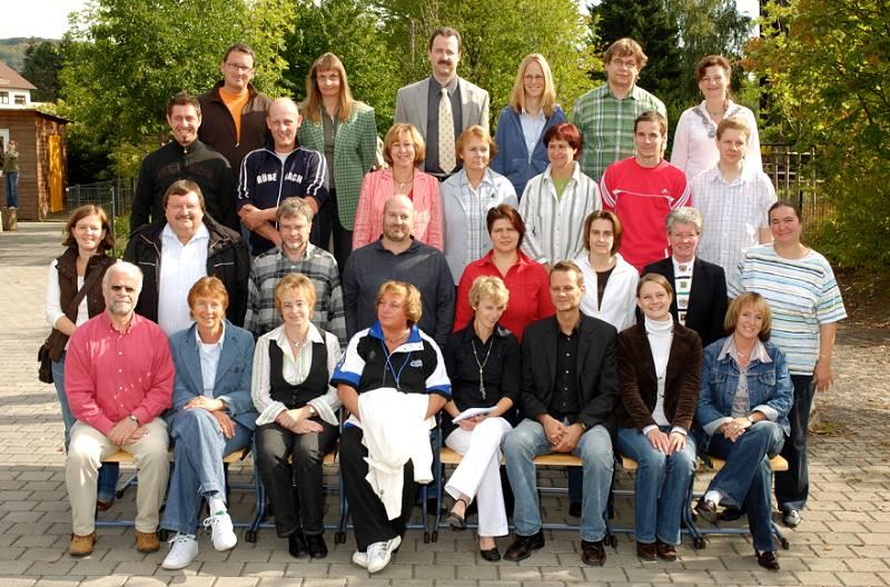 Das Lehrerkollegium 2007