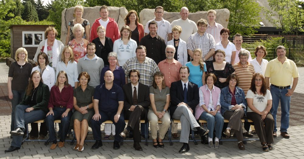 Das Lehrerkollegium im Oktober 2008
