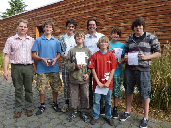 Sieger im Mathematikwettbewerb Känguru 2010