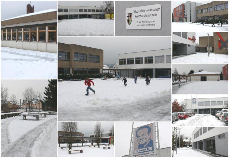 Unsere Schule im Schnee © Ralf Breuer