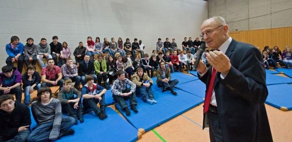 Willi Lemke an unserer Schule