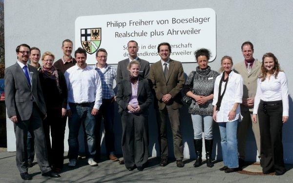 Philipp Freiherr von Boeselager Realschule Ahrweiler bereitet auf Berufswelt vor