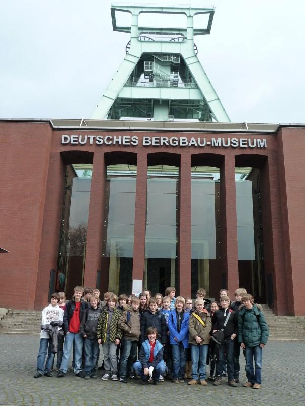 6a vor dem Bergbaumuseum in Bochum